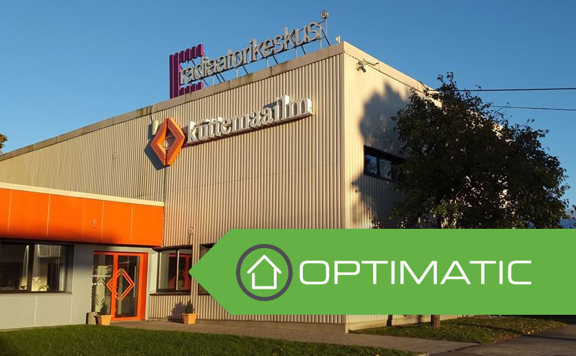 The products of the Optimatic brand are available from the office of Küttemaailm