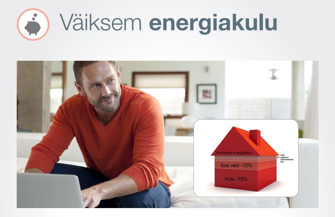 Väiksem energiakulu